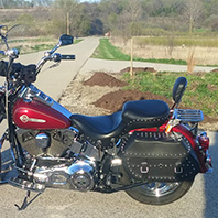 mike's-softail-motorcycle-saddlebag-photo