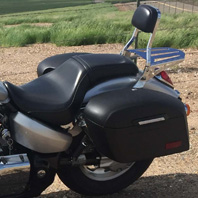 Mike's '08 Honda VTX 1300 C w/ Lamellar Hard Saddlebags