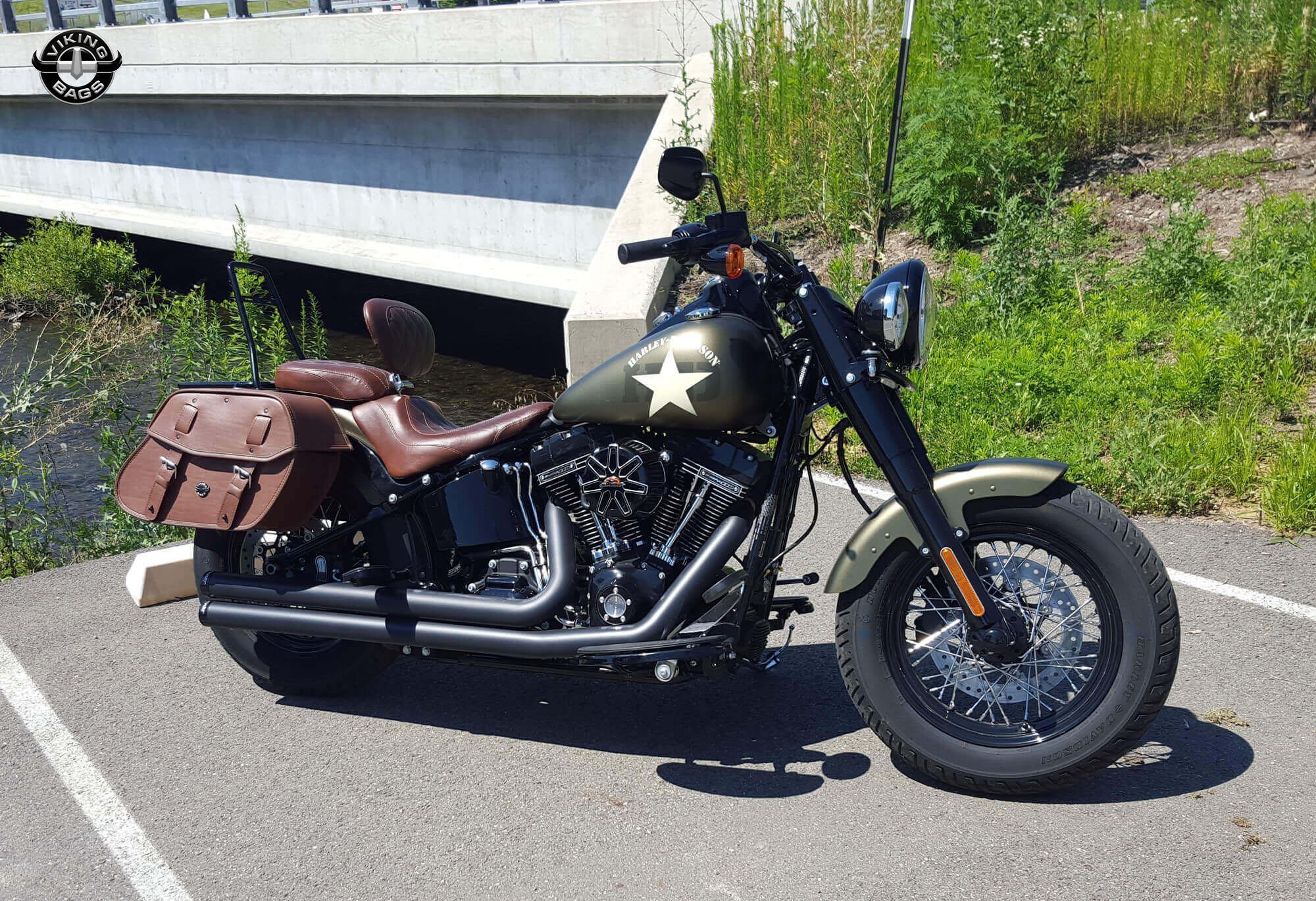 Leather Saddlebags For Harley Davidson Softail Best Model Bag 2016
