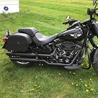 paulgreiner's-harley-fatboys-Customer-Motorcycle-Saddlebag-photo