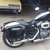 richarddyer's-09nightster-Customer-Motorcycle-Saddlebag-photo