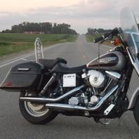 rich radtke 92 harley dyna glide custom fxdc