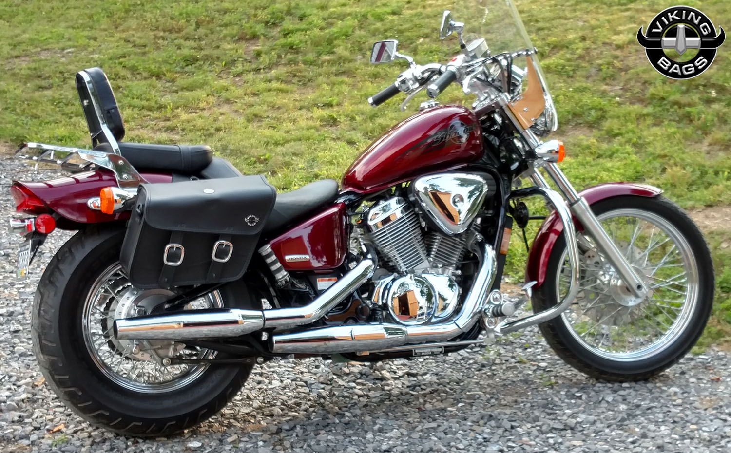 honda 600 shadow vlx motorcycle saddlebags small thor. Black Bedroom Furniture Sets. Home Design Ideas