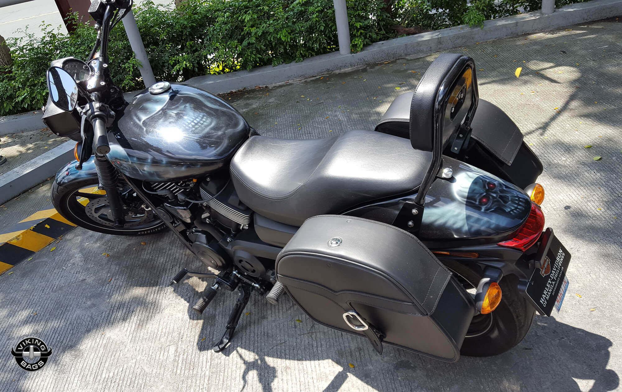 Shop Harley Davidson Street Saddlebags Viking Bags
