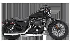 Harley Davidson Sportster 883 Iron Motorcycle Saddlebags