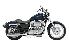 Sportser 883 Low Saddlebags