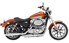 Sportster Super Low Saddlebags
