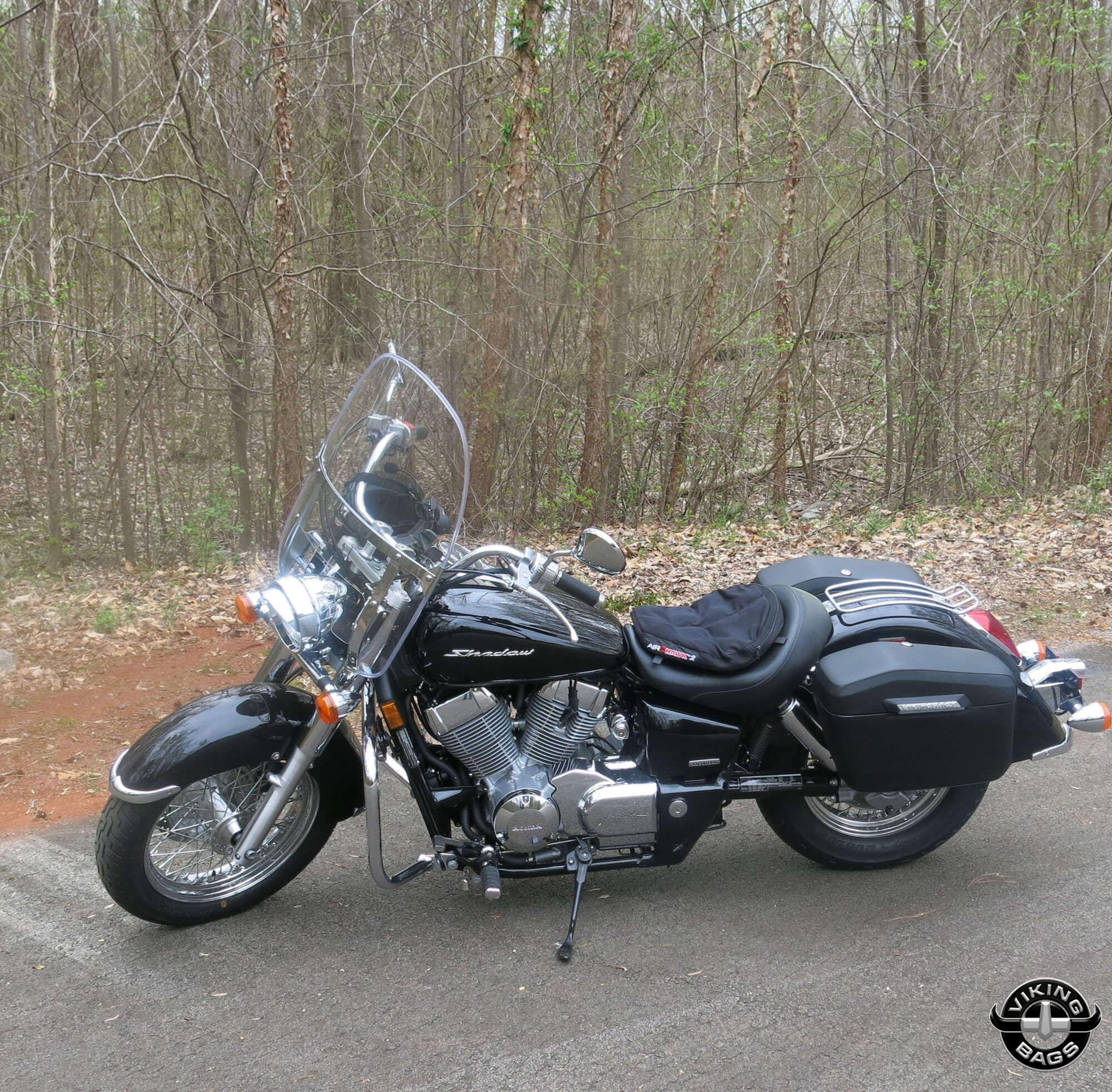 ... Stephen's '13 Honda Shadow w/ Lamellar Hard Motorcycle Saddlebags ...