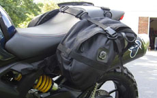 Ducati Monster w/ Viking Dirtman Enduro Saddlebags 1