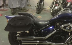 Michael's '05 Suzuki M 50 w/ Warrior Series Saddlebags