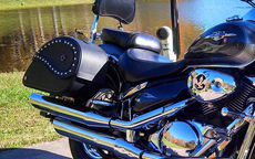 Randy's Suzuki w/ Ultimate Shape Saddlebags