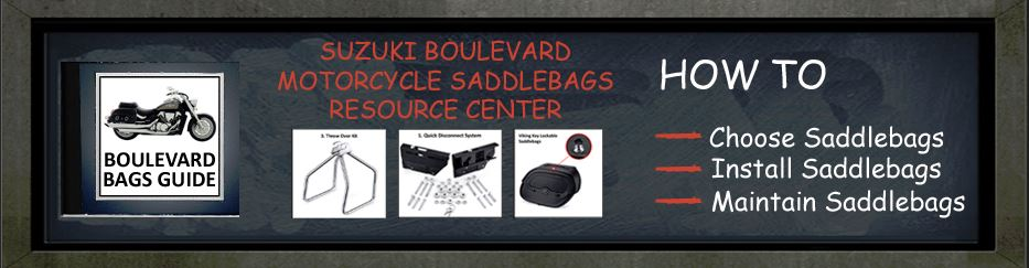 Suzuki Boulevard Saddlebags Guide