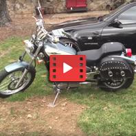 Suzuki Boulevard Motorcycle Luge Customer Video Gallery