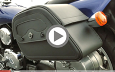 Renato's Yamaha Road Star Motorcycle Bags Review