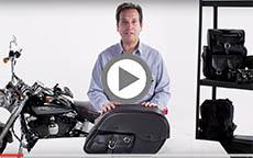 Suzuki Intruder And Marauder Charger Side Pocket Motorcycle Saddlebag W Shock Cutout Review