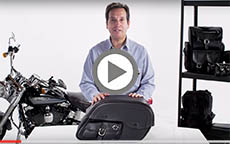 Suzuki Intruder And Marauder Charger Side Pocket Motorcycle Saddlebag W Shock Cutout Review