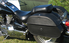 Randy's Yamaha Road Star w/ Hammer Series Motorcycle Bags