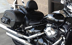 Mike Pore's Side Pocket Motorcycle Suzuki Saddlebags