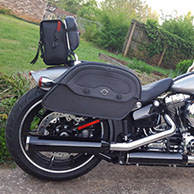 Todd's '16 Harley-Davidson Softail Breakout w/ Warrior Series Saddlebags