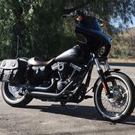 Ton's Harley-Davidson Dyna w/ Odin Series Saddlebags