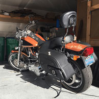 Trext's Harley-Davidson Dyna Wide Glide w/ Side Pocket Saddlebags