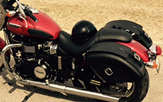 Colin McLaren's 2012 Triumph Speedmaster w/ Quarter Circle Motorcycle Saddlebags