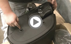 Unboxing Viking Bags Superglide Side Pocket Saddlebags