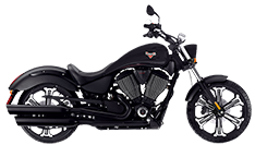 Victory 8 Ball Saddlebags