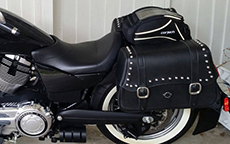 Scott Pak's '13 Victory w/ Charger Motorcycle Saddlebags
