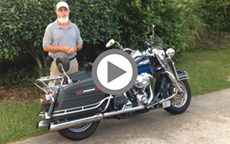 Touring Baggers On 2004 Road King Classic