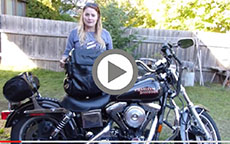 Viking Sissy Bar Bag Review