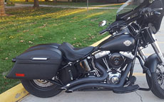 Willerb's '13 Harley-Davidson Softail Slim w/ Hard Series Saddlebags