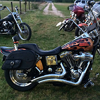williamkemp's-dynawideglide-Customer-Motorcycle-Saddlebag-photo