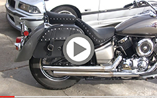 Mike Keeling's Charger Slant Motorcycle Bags Installation & Review On Yamaha Stratoliner