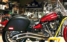 Steven Joe's '09 Yamaha w/ Lamellar Hard Saddlebags