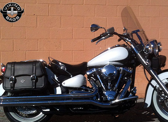 Yamaha Viking Star Saddle Bags