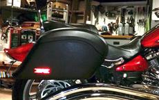 Steven's '09 Yamaha Raider S w/ Lamellar Hard Saddlebags