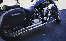 Jeff's 12 Yamaha Road Star 1700 w/ Lamellar Hard Saddlebags