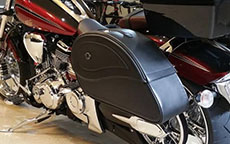 Yamaha Road Star w/ Ultimate Shape Saddlebags