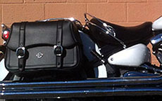 David's '05 Yamaha Road Star S Midnight w/ Charger Straight Motorcycle Saddlebags
