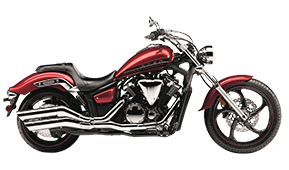 Yamaha Stryker Motorcycle Saddlebags