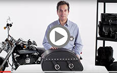 Yamaha Virago Rondo Studded Motorcycle Saddlebags Review