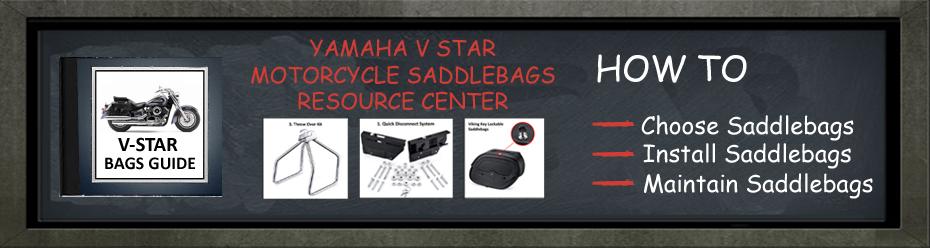 Yamaha V-Star saddlebags guide