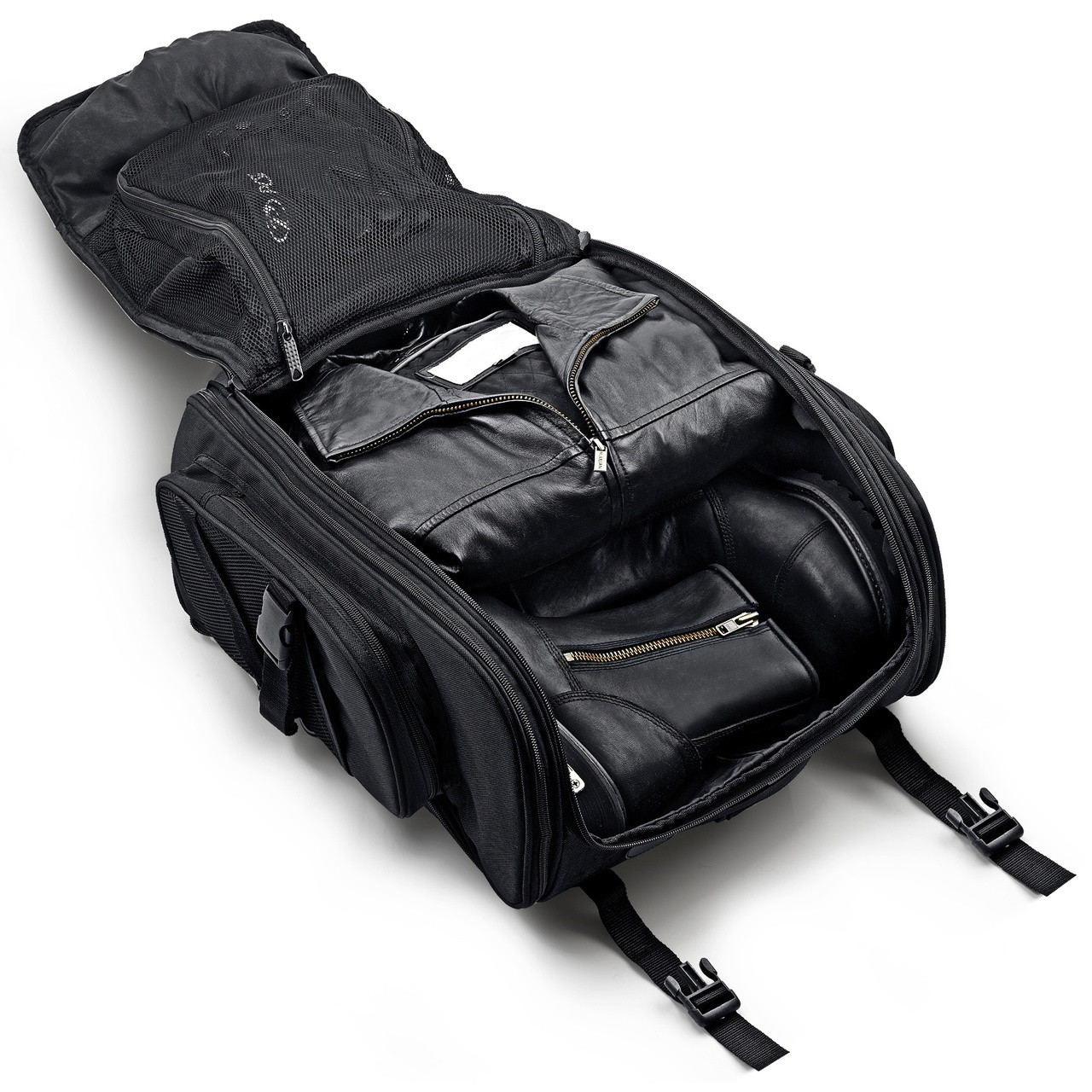 New Viking Leather Motorcycle Sissy Bar Bag From Vikingbags
