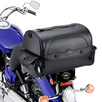 Viking Warrior Motorcycle Tail Bag 2,050 Cubic Inches on Bike View