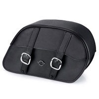 Harley Dyna Switchback Universal Slanted Large Motorcycle Saddlebags Main Image