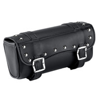 Studded Motorcycle Fork Bag on Main View