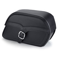 Harley Dyna Switchback Universal Slanted SS Large Motorcycle Saddlebags Main Image