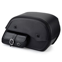 Harley Dyna Switchback Universal Side Pocket SS Large Motorcycle Saddlebags Main Image