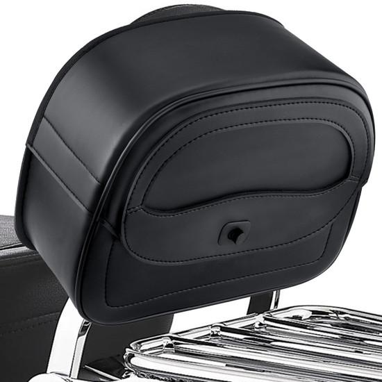 Viking Warrior Motorcycle Sissy Bar Bag on  Bike Rear View